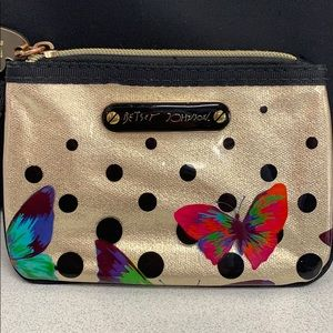 Betsy Johnson mini pouch/ or wallet